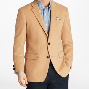 Brooks Brothers Camel Hair Sport Coat Sz 40S